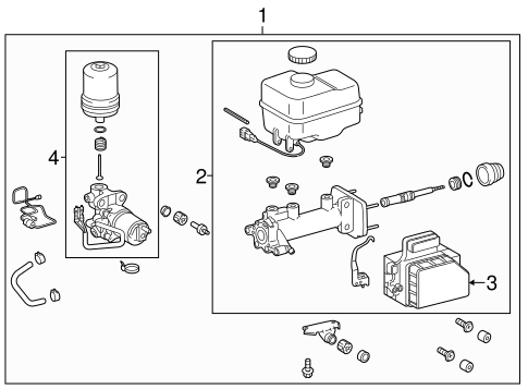 Genuine OEM Hydraulic System Parts for 2013 Toyota Tacoma