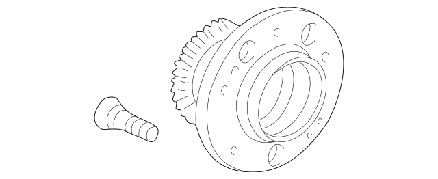 2004-2008 Acura TL SEDAN Bearing Assembly, Rear Hub Unit