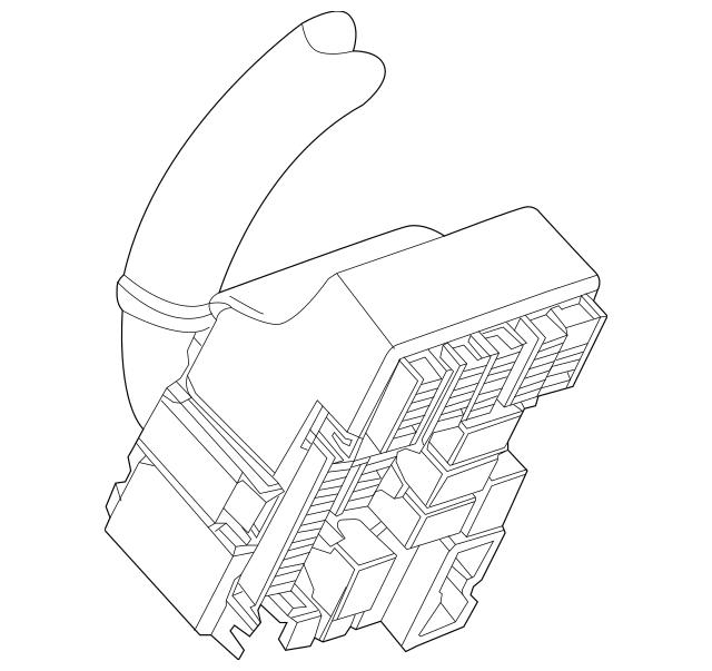 2018-2019 Chevrolet Trax Fuse & Relay Box 42604046