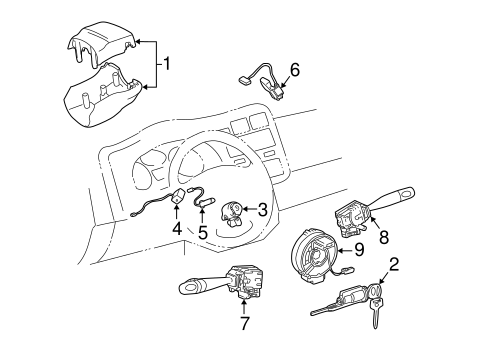 Automatic Transmission Components for 2004 Toyota RAV4
