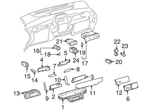 2007 Hino 268 Gauge Cluster Wiring Diagram