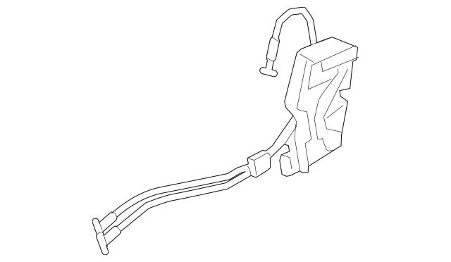 2011-2015 Kia Sorento Lock Actuator 81310-2P000