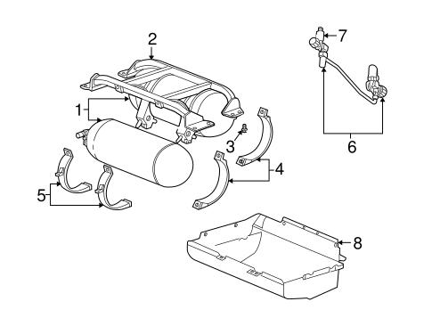 Fuel System Components for 1999 Dodge Ram 3500 Van Parts