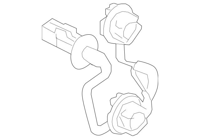 2014-2015 Mitsubishi Outlander Socket & Wire 8330A866