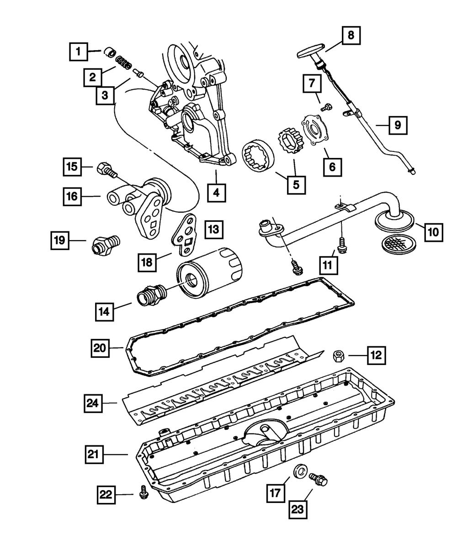 OEM NEW 1997-06 Mopar Dodge Ram 1500 2500 3500 8.3l Engine