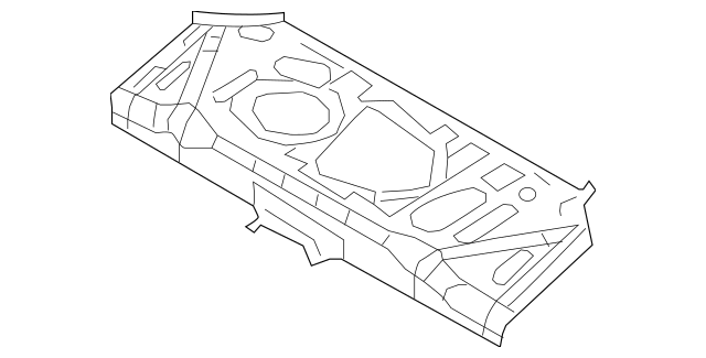 2011-2017 Nissan Juke Center Floor Pan G4512-1KMMA