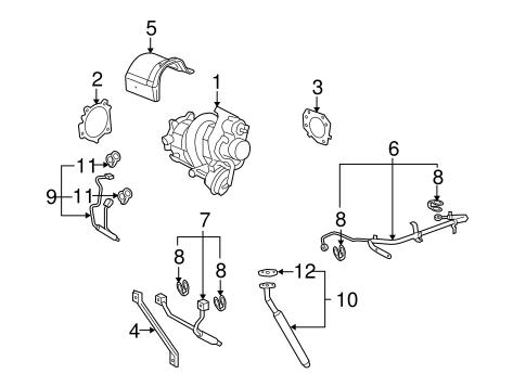OEM 2007 Pontiac Solstice Turbocharger & Components Parts