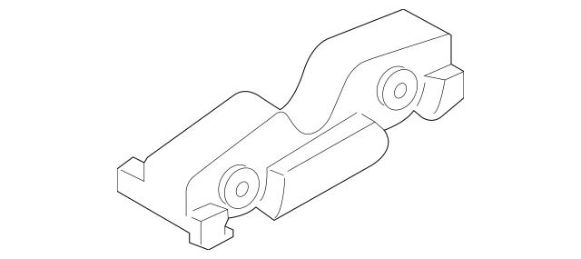 2015-2019 Ford Mustang Manual Transmission Mount Insulator