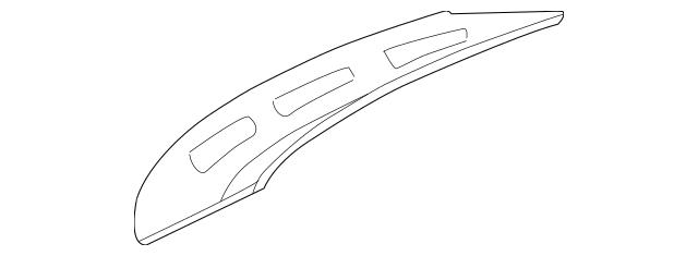 2000-2005 Hyundai Accent Fender Insulator 84142-25000