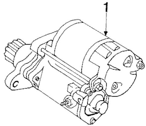 Genuine OEM Starter Parts for 1996 Toyota Celica GT