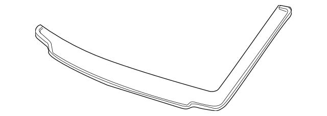 2008-2012 Honda ACCORD SEDAN Seal, Front Windshield (Upper