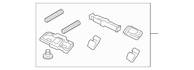 2010-2019 Audi Air Deflector Hardware Kit 8F0-898-174-A