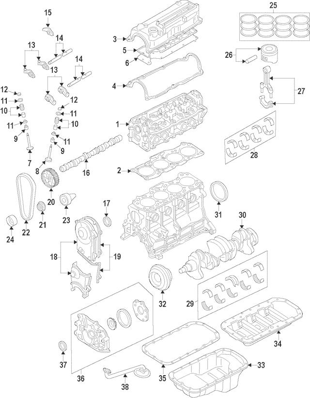 1986-1987 Mazda B2000 Crankshaft Pulley FE85-11-401