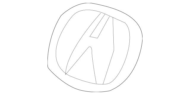 Up To 35% Off Original Emblem, Front (A) Part # 75700-TL2