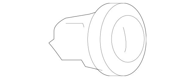 Genuine OEM 2009-2010 Pontiac G6 Instrument Light Rheostat