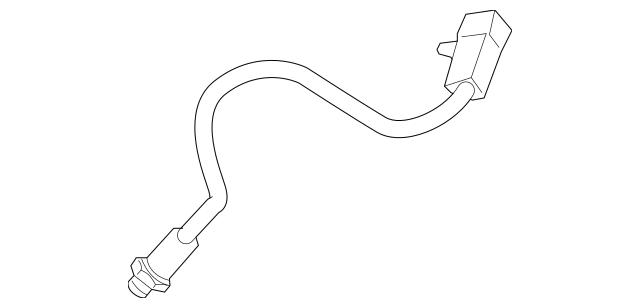 2006 Hummer H3 O2 Sensor Location