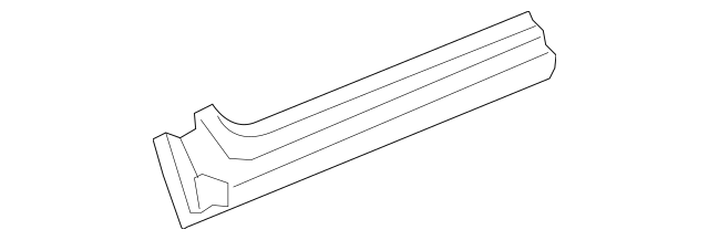 2006-2011 Honda CIVIC COUPE Panel, R Side Sill 04631-SVA