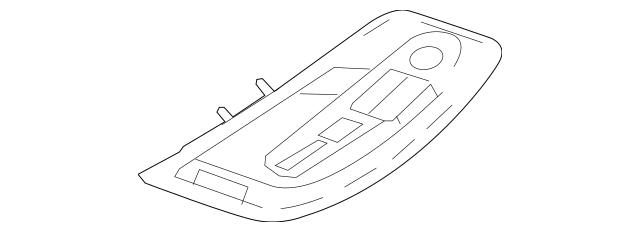 2013 Chevrolet Equinox Overhead Console 22771169