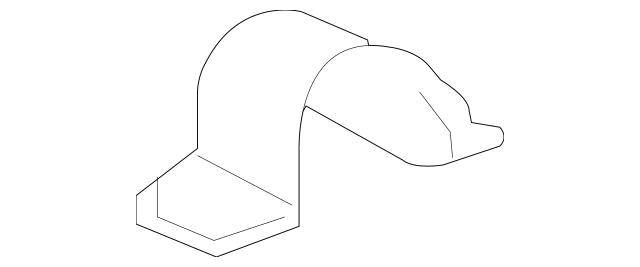 2005-2012 Acura RL SEDAN Bracket, Front Stabilizer 51308