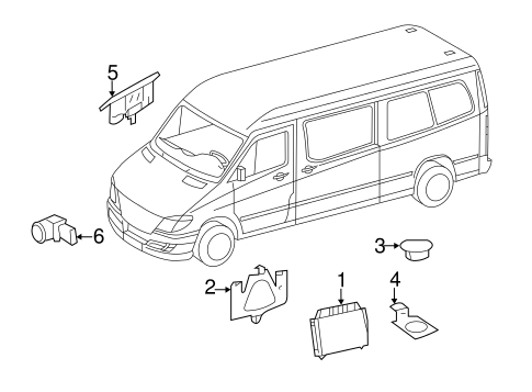 Electrical Components for 2015 Mercedes-Benz Sprinter 3500