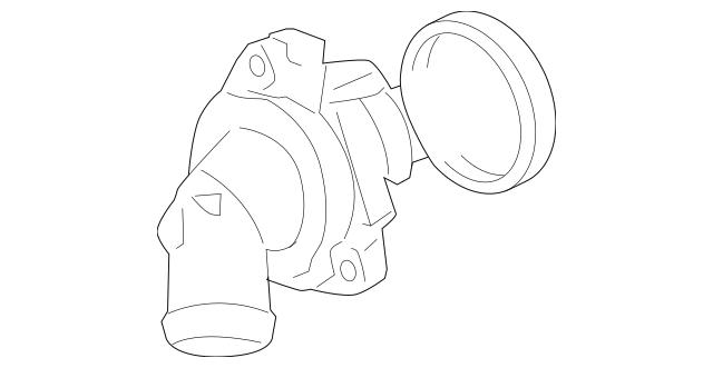 2007-2012 Acura RDX 5-DOOR Thermostat Assembly (Fuji Seiko