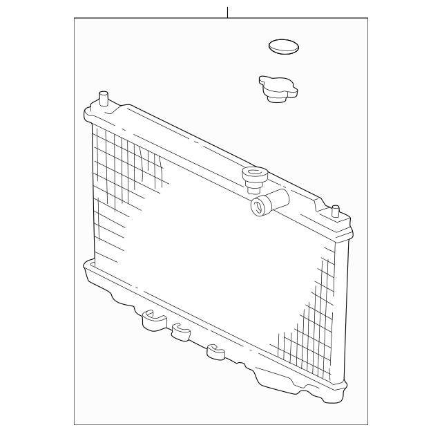 Up To 35% Off Original Radiator (Sak) Part # 19010-P75-A53