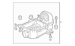 2006-2011 Honda Case Set, Air Cleaner 17202-RNA-A00