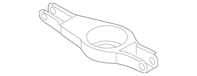 2007-2009 Nissan Altima Lower Control Arm 551B0-JA000
