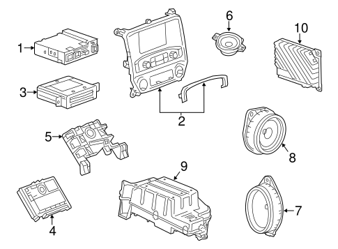 Sound System for 2015 Chevrolet Silverado 1500