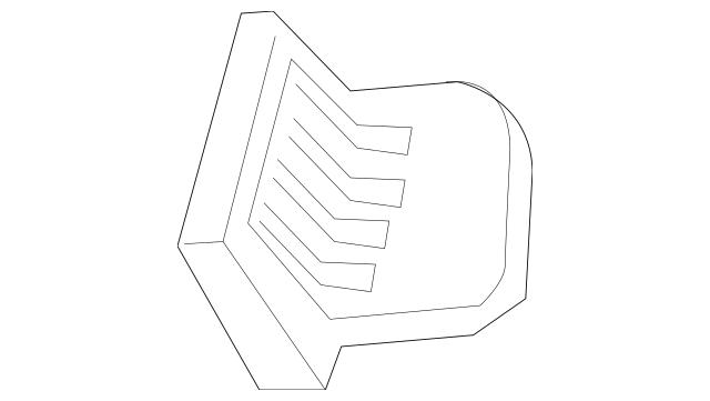 Honda Outlet Assembly, Driver Inside *NH167L* (Graphite