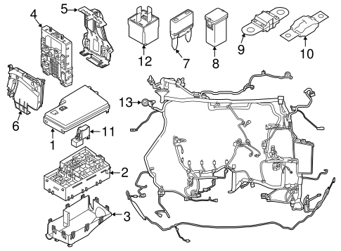 Wiring Database 2020: 25 2012 Ford Focus Parts Diagram