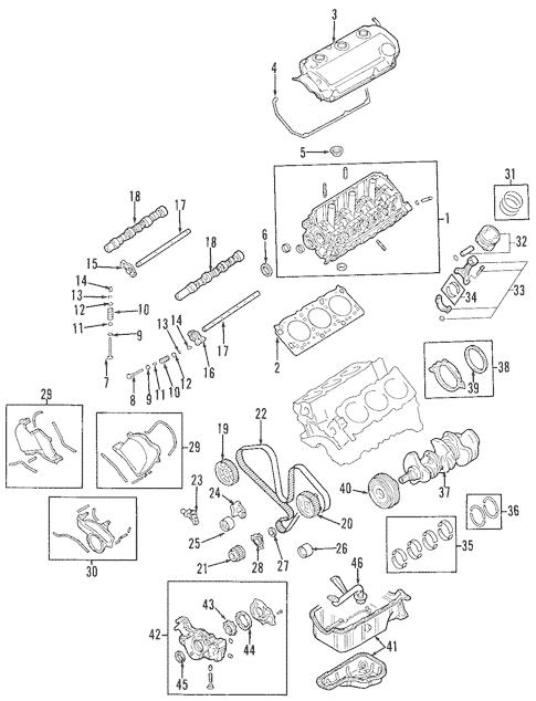 2001 Mitsubishi Montero Sport Es V6 3 0 Engine Diagram