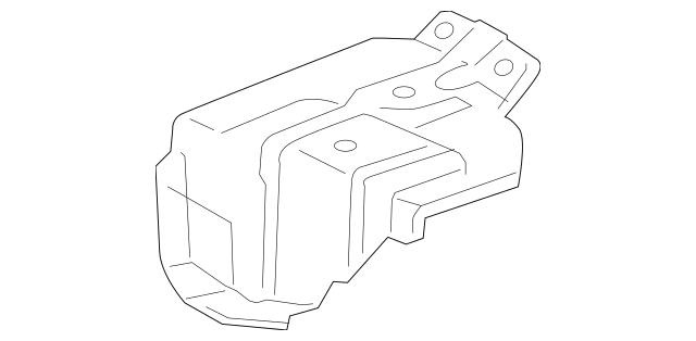 2011-2014 Acura TSX 5-DOOR Bracket, L Rear Lid Support