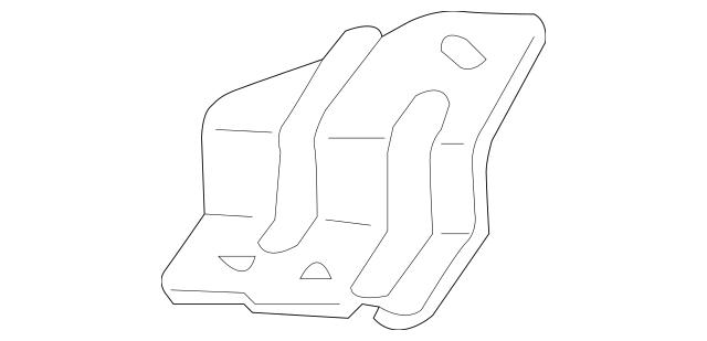 2003-2008 Honda ELEMENT 5-DOOR Bracket B, R Headlight