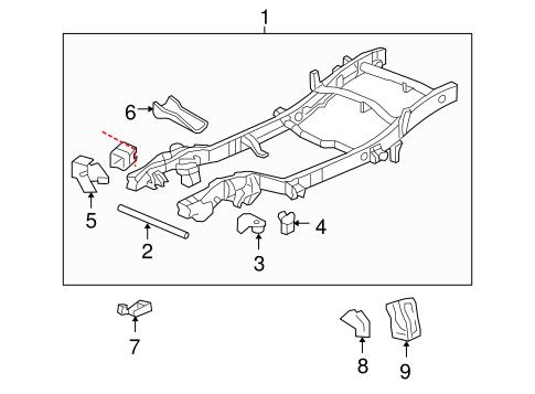 OEM 2004 Chevrolet Suburban 2500 Frame & Components Parts