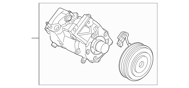 Buy this genuine OEM 2018 Ford F-150 Compressor Assembly