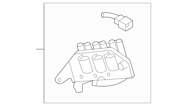 2005-2010 Kia Sportage Ignition Coil 27301-37150