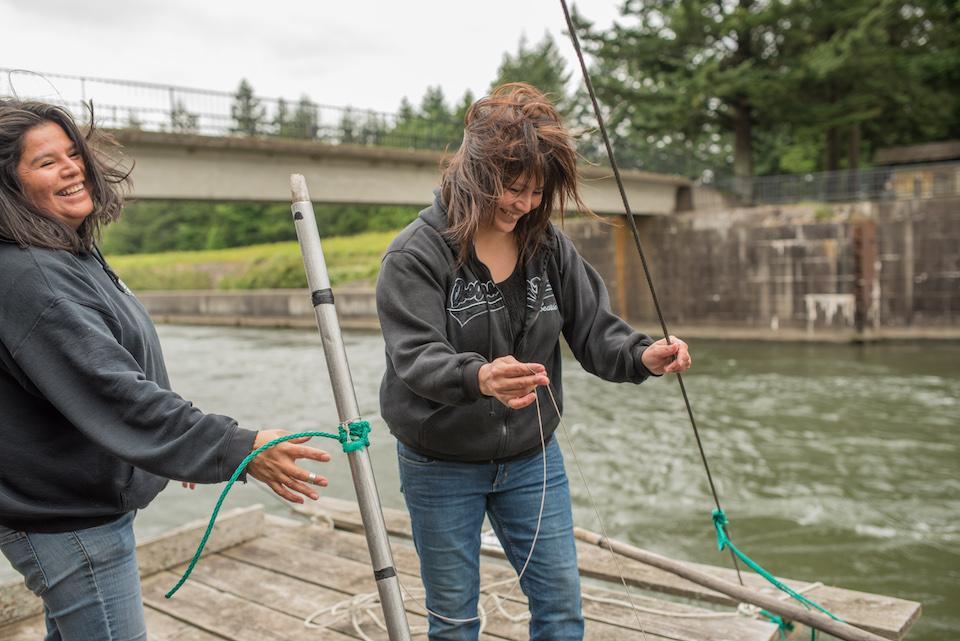 brigham salmon, cascade locks, columbia river