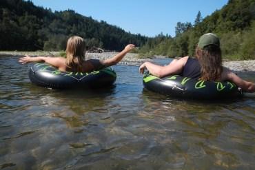 summer, river floating, oregon, sandy river