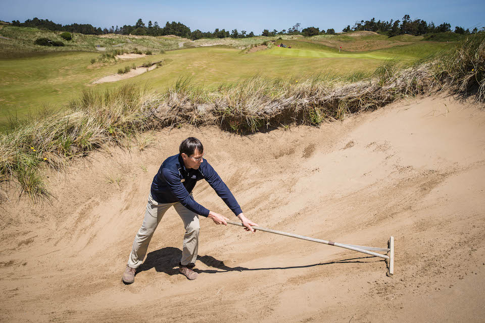 Ken Nice at Bandon Dunes, May 15, 2016. Photo by Thomas Boyd