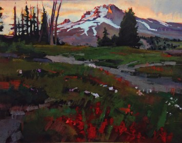 Tracy Leagjeld I am a printmaker/ painter born and raised in Bend Oregon. My goal as an artist is to share my love of the PNW through my artwork.