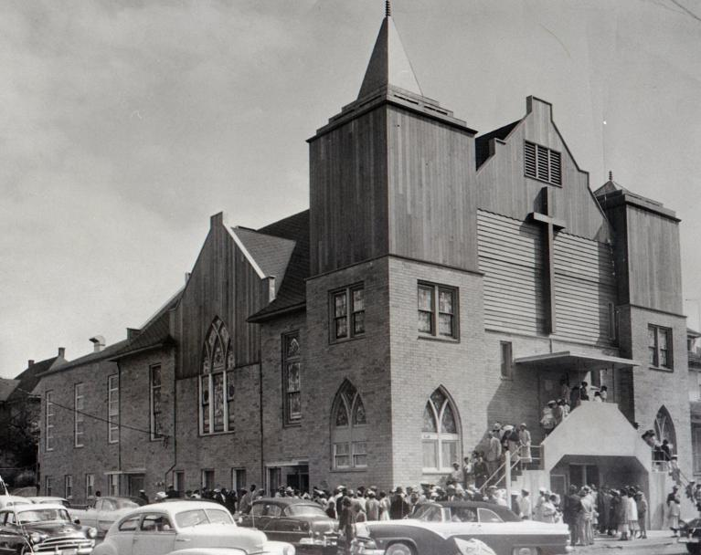 Vancouver Avenue First Baptist Church, only recently added to the historic registry.