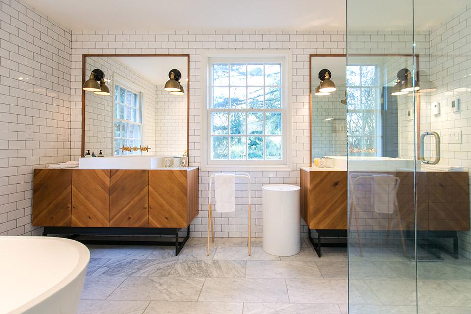 diy bathroom remodel. Bathroom Remodel in the Southwest Hills DIY  Vanity 1859 Oregon s Magazine