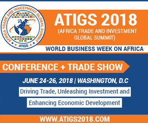 Africa Trade and Investment Global Summit (ATIGS) 2018: Conference & Exhibition