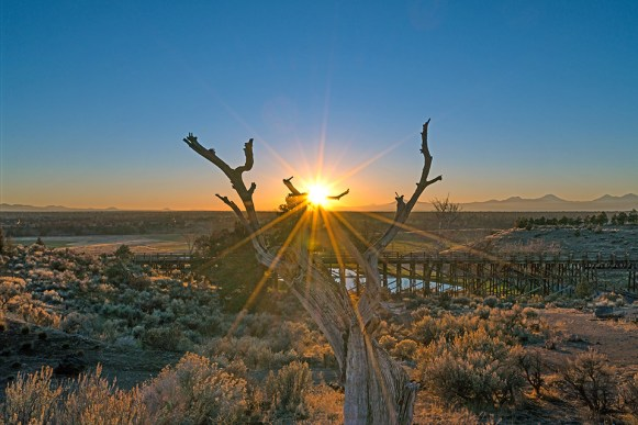 Sunrise-Over-The-Trestle-Bridge