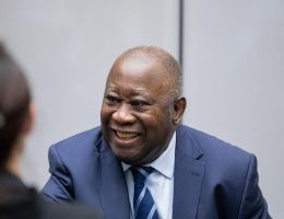 Laurent Gbagbo, ex-président ivoirien, fondateur du FPI