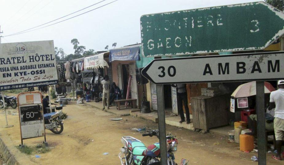 Kye-Ossi, ville frontalière entre le Cameroun, le Gabon et la Guinée Equatoriale