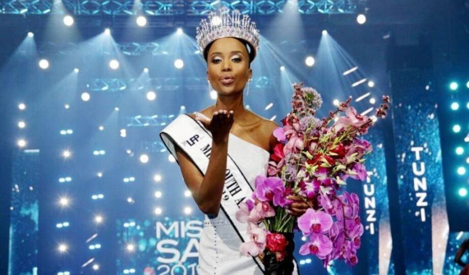 Zozibini Tunzi Miss South Africa