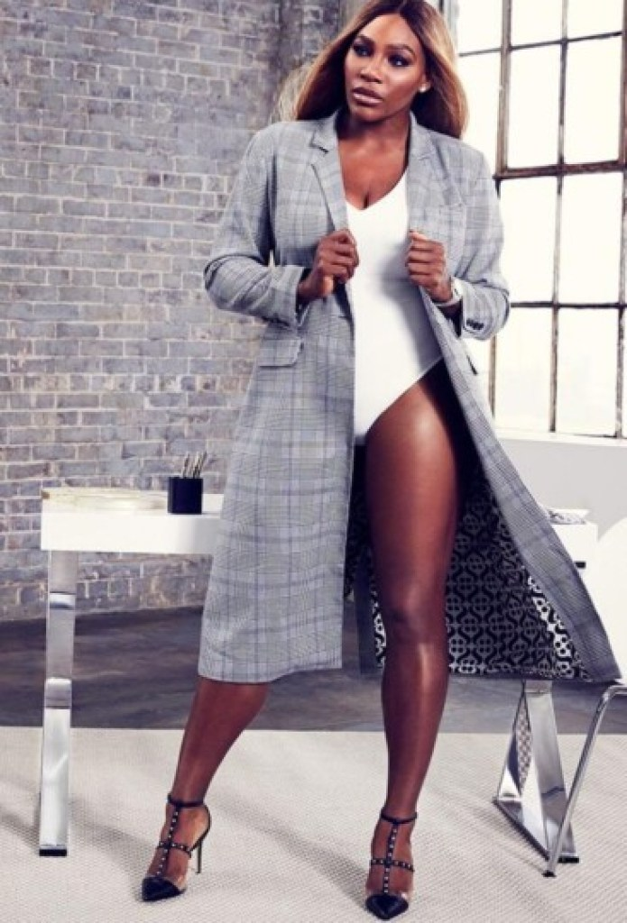Black celebrities : Serena Williams Fashion Brand S by Serena