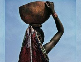 DZALEU.COM : Peuples africains - Femme Dinka du Soudan